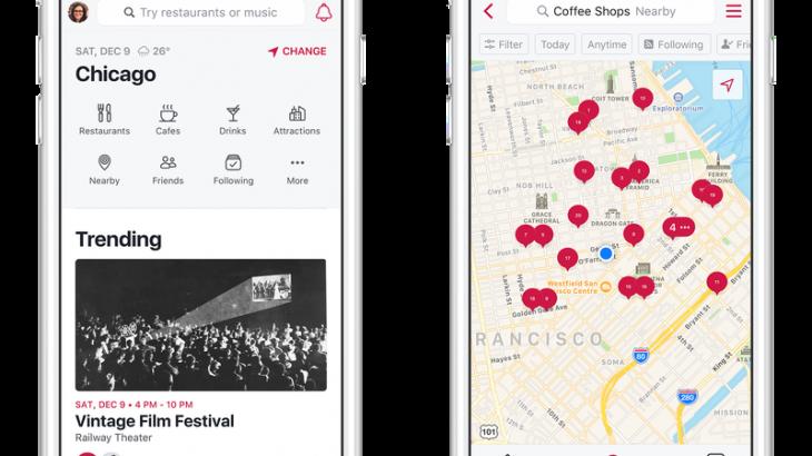 Facebook rilançon aplikacionin Events por tani quhet Local