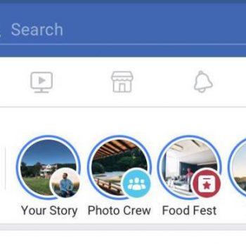 Facebook lançon historitë për grupet, eventet dhe aplikacionin Lite