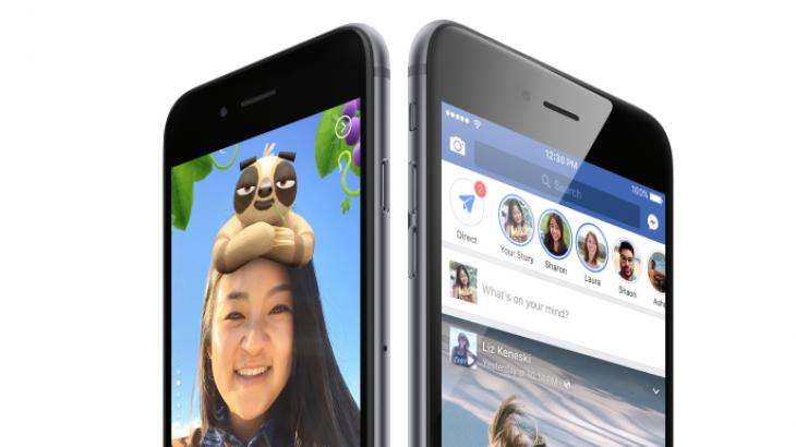 Shkrihen Facebook Stories me Messenger Day