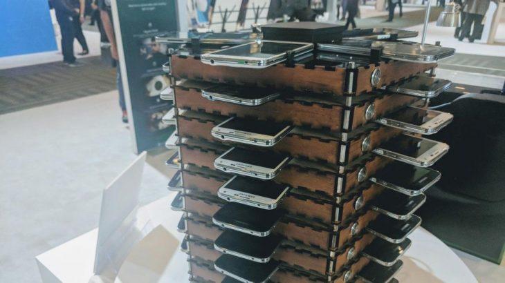 """Samsung ndërton një """"minierë"""" bitcoini me 40 modele Galaxy S5"""