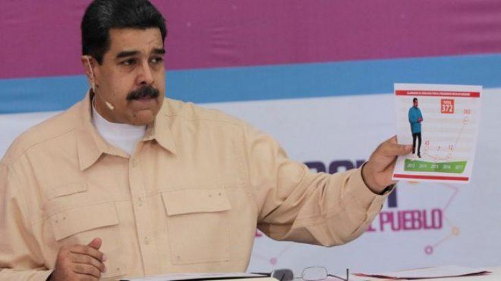 """Venezuela prezanton monedhën virtuale """"petro"""""""