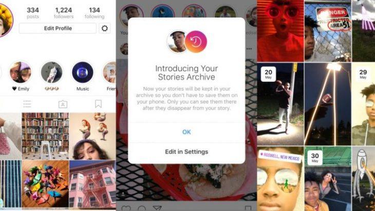 Tashmë mund ti ruani përgjithnjë historitë e preferuara në Instagram