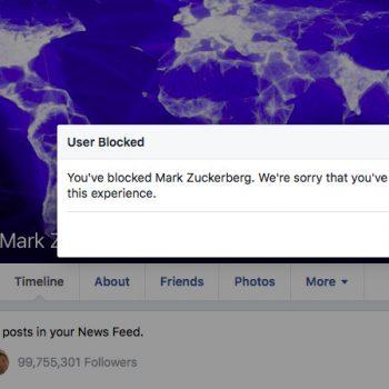 Më në fund mund të bllokoni Mark Zuckerberg në Facebook