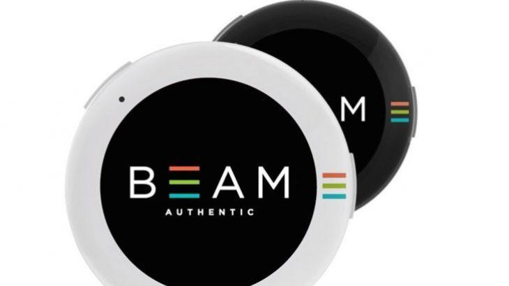Beam Authentic është një karficë dixhitale e cila tregon imazhe GIF
