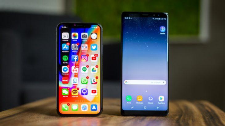 Flagshipët e Samsung janë më të mirë sesa iPhone X thotë Consumer Reports