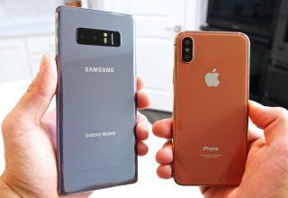 Markat Kineze sfidojnë Apple, shiten 383 milion telefonë në tre mujorin e tretë të 2017