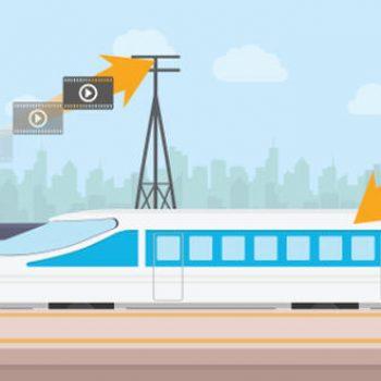 Samsung teston 5G-në në një tren të shpejtësisë së lartë