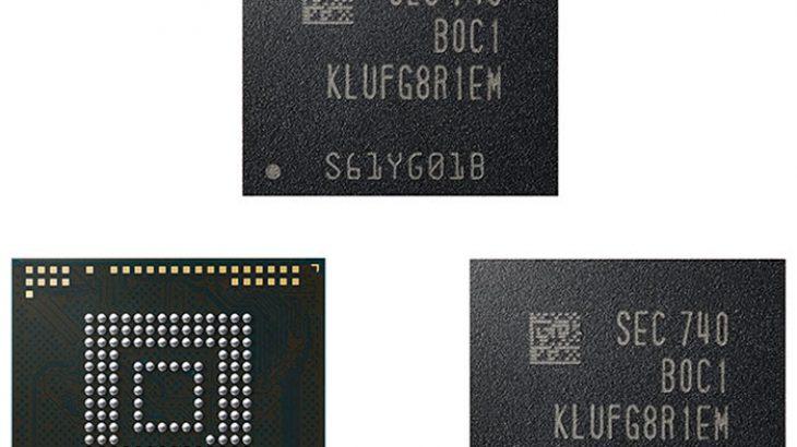 Samsung nis prodhimin e UFS së parë 512 Gb për pajisjet mobile të gjeneratës së ardhshme