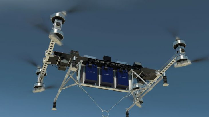 Boeing prezantoi një dron i cili mund të ngrejë 226 kilogram