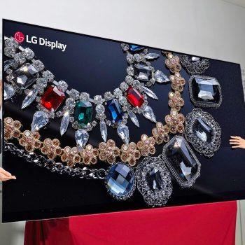 LG prezantoi televizorin e parë në botë me ekran 88-inç dhe rezolucion 8K