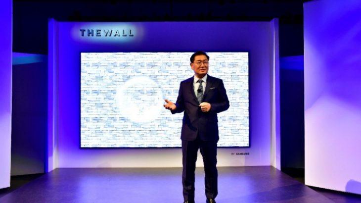 Samsung prezantoi televizorin koncept 146-inç me ekran MicroLED The Wall