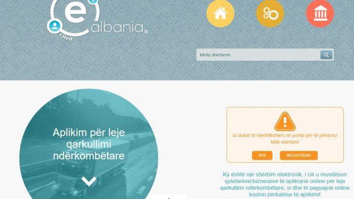 Leje Qarkullimi Ndërkombëtare, ja sesi të aplikoni online