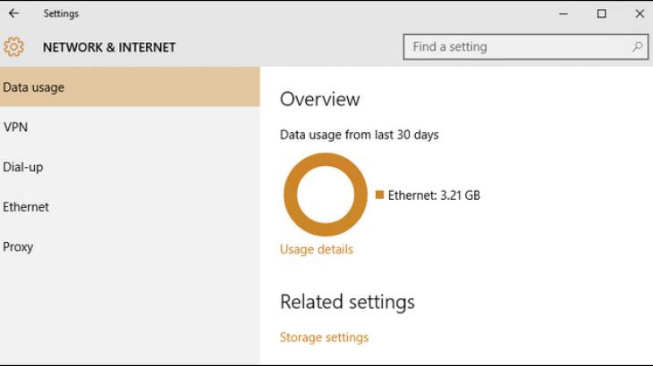 Ja sesi të aplikoni kufizime për konsumin e të dhënave në Windows 10