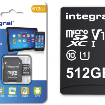 Integral prezantoi kartën microSD me kapacitetin më të lartë në botë