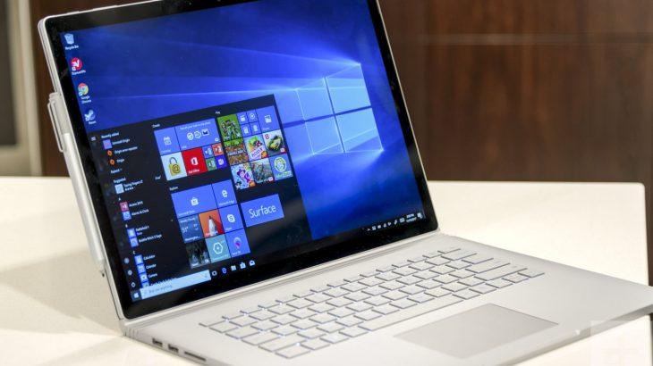 Microsoft Surface Book 2 15-inç në shitje në 17 tregje të reja