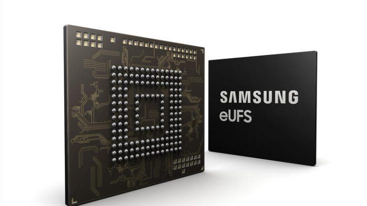 Samsung prezantoi një çip memorie 256GB eUFS për makinat