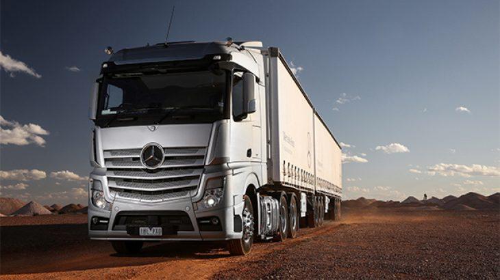 Kamioni i parë elektrik eActros i Daimler hyn në prodhim në 2021