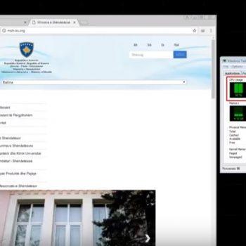 Faqja e Ministrisë së Shëndetësisë në Kosovë përdor kompjuterat e vizitorëve për gërmimin e monedhave virtuale