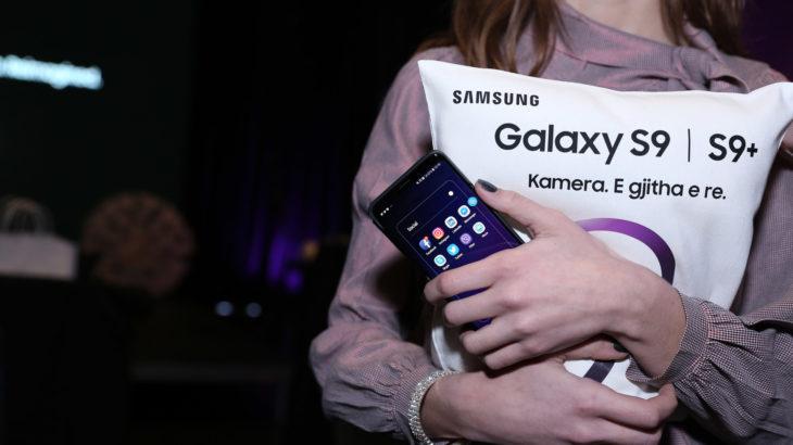 Samsung prezanton Galaxy S9 dhe S9+ në Shqipëri