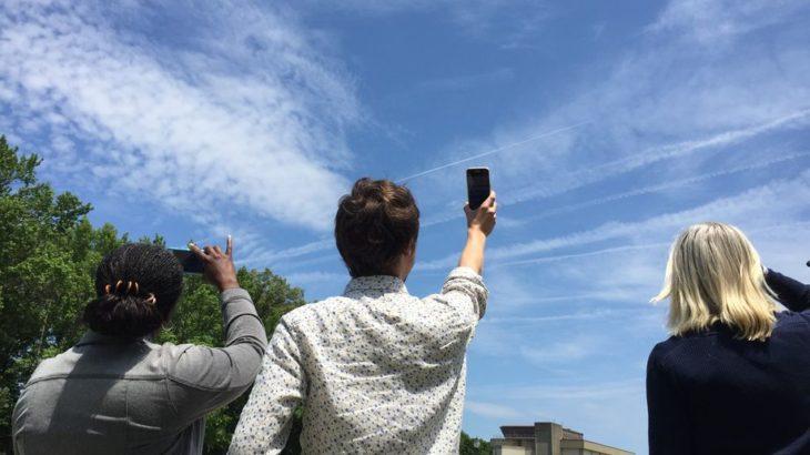 NASA po kërkon të gjithë të pasionuarit pas fenomeneve natyrore të shkrepin foto të qiellit dhe ti shpërndajnë ato nëpërmjet një aplikacioni