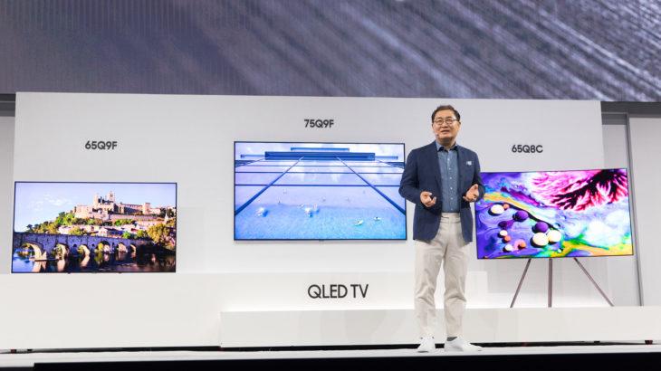 Samsung lançon linjën e re të TV QLED për vitin 2018 në Eventin First Look në New York