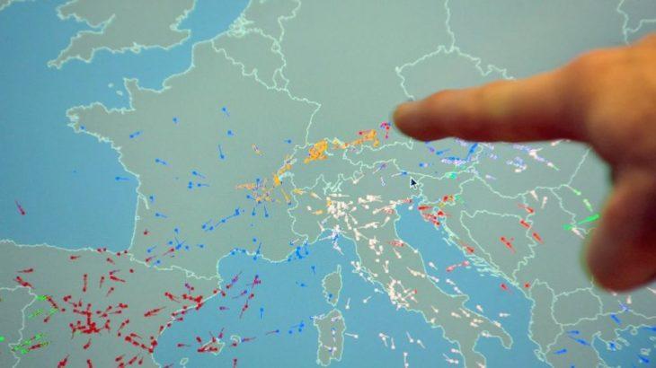 Një problem me sistemin e Eurocontrol çoi në shtyrjen e 29,500 fluturimeve në Evropë