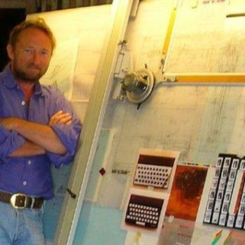 Ndahet nga jeta dizajneri i kompjuterave Sinclair Rick Dickinson