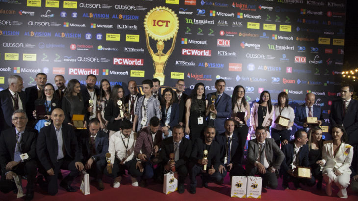 Kurorëzohet edicioni i 6-të i Albanian ICT Awards, shpallen fituesit e çmimeve shpërblyese në teknologji