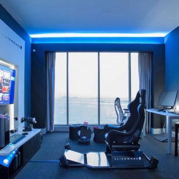 Alienware ka ndërtuar një dhomë lojërash në hotelin Hilton në Panama