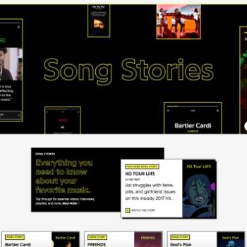"""Aplikacioni muzikor Genius lançon versionin e tij """"Story"""", i ndihmuar nga YouTube"""