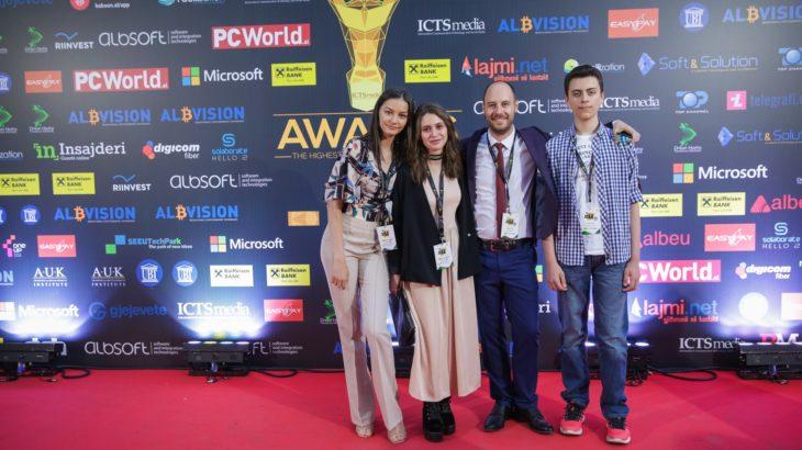 Tea Reçica: Intervistë me Yllin në Ngritje në edicionin e 6-të të ICT Awards