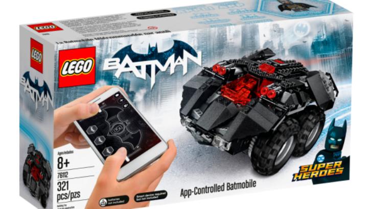 """Linja e re e lojrave """"të lidhura"""" për fëmijë do t'ju lejojë të ndërtoni dhe programoni Batmobile"""