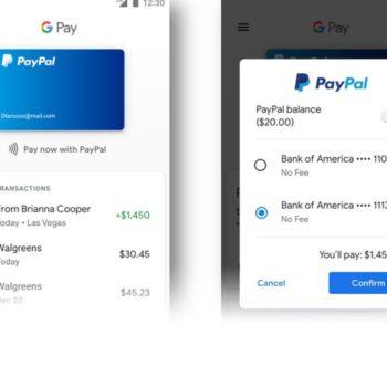 Falë Google Pay tashmë PayPal do të punojë brenda Gmail, YouTube