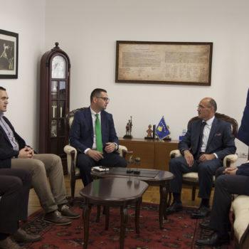 Ministri i Punëve të Brendshme Bejtush Gashi mirëpriti përfaqësues dhe anëtarë të jurisë së ICT Awards