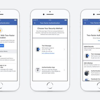 Procesi i ri i autentifikimit me dy faktorë në Facebook nuk ju kërkon më një numër telefoni