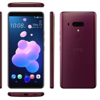 HTC lançon U12 Plus me pjesë anësore dhe butona të ndjeshëm ndaj shtypjes