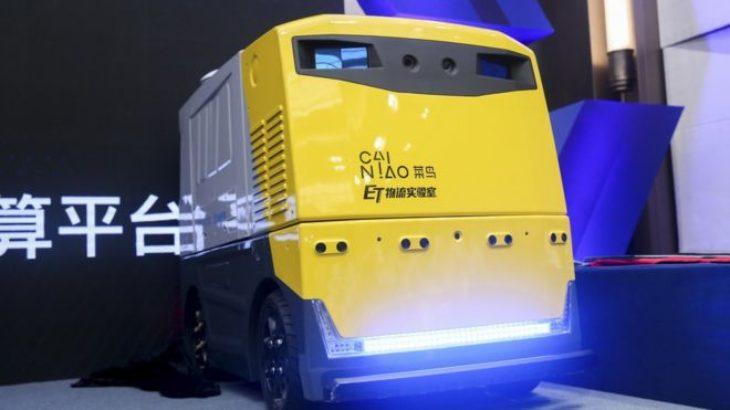 Alibaba ka ndërtuar një robot që ecën me 14km për orë dhe dorëzon pako