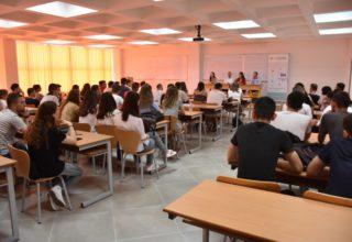 UBT-CERT në Tiranë me studentët e Fakultetit të Teknologjisë Informative për promovimin e Summer Academy CSP