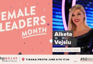 Sot më 6 Qershor, Alketa Vejsiu vjen në Startup Grind Tirana