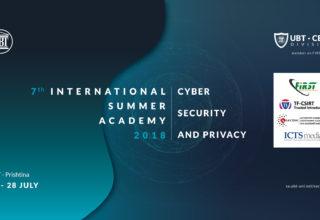 UBT dhe UBT-CERT organizojnë edicionin e dytë të Shkollës Verore Cyber Security & Privacy