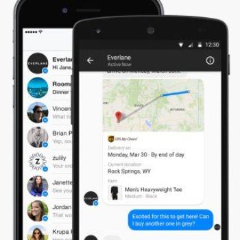 Facebook do të vendosë video reklama brenda Messenger