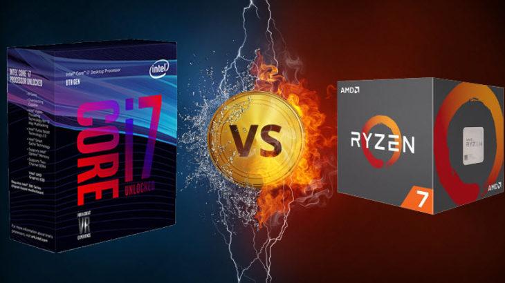 Beteja e procesorëve: AMD Ryzen vs Intel Coffe Lake