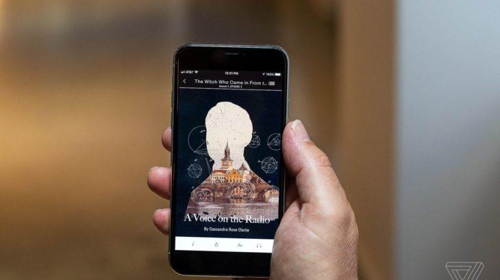 Ky aplikacion ju dërgon histori të shkurtra përmes njoftimeve