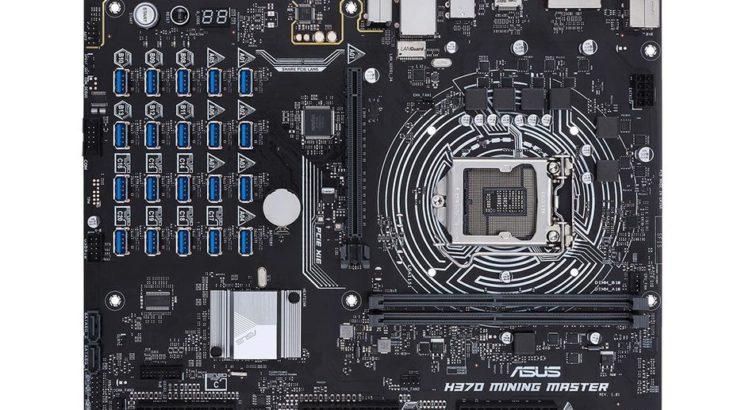 Asus ka ndërtuar një motherboard për gërmimin e monedhave kriptografike i cili mbështet 20 karta grafike