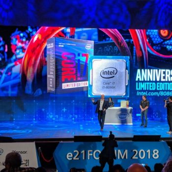 Intel prezantoi edicionin special 5Ghz Core i7-8086K