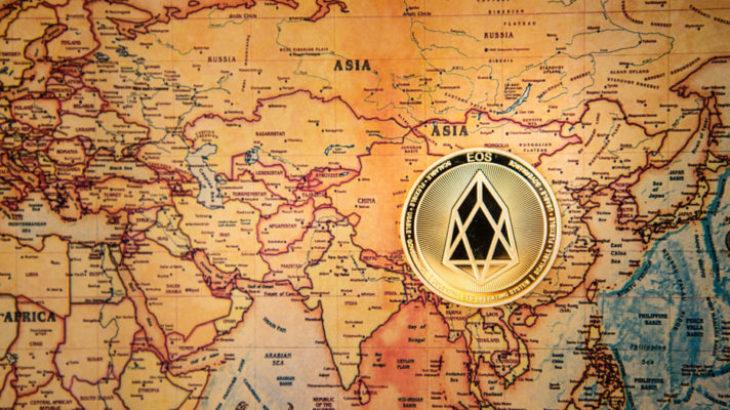 EOS rekord transaksionesh në blockchain, 3097 në sekond