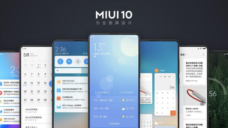 Xiaomi përditëson 35 modele në MIUI 10