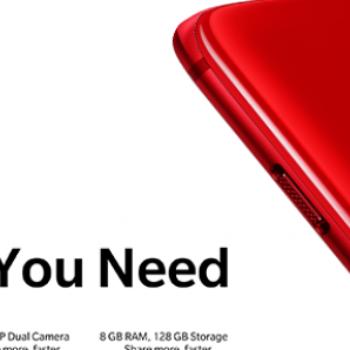 OnePlus 6 vjen në ngjyrë të kuqe