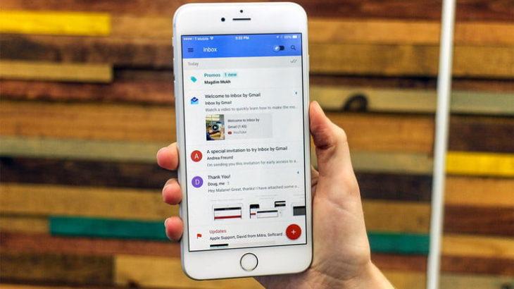 Google përditëson më fund aplikacionin Inbox për iPhone X