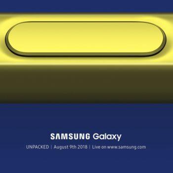 Lapsi i Galaxy Note 9 do të jetë i pajisur me Bluetooth